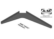 18x24 3D aluminum standard bracket drawing