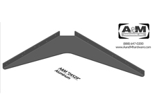24x29 3D aluminum standard bracket drawing