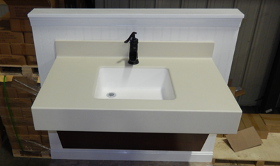 Top view of an ADA countertop