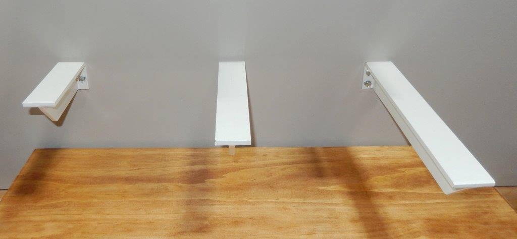 floating hidden shelf brackets a m hardware. Black Bedroom Furniture Sets. Home Design Ideas